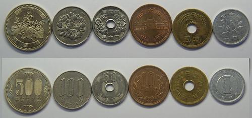 Resultado de imagen para Monedas de japon