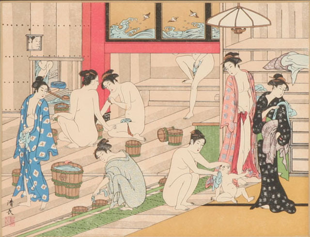 Artistic-Traditional-Japanese-Bath-House-Painting-Woman-and-Children.jpg
